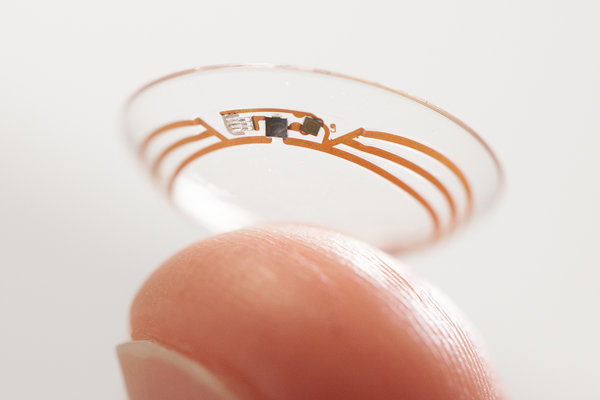 Novartis & Google to Develop Contact Lens That Monitors Blood Sugar