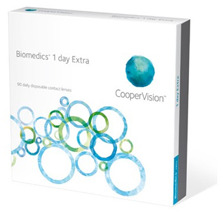 CooperVis Biomedics One Day Extra 90pack
