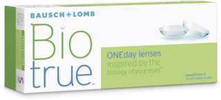 New! B&L Biotrue 1 Day for Astigmatism 30 Pack