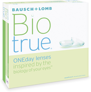 New! B&L Biotrue 1 Day 90 Pack