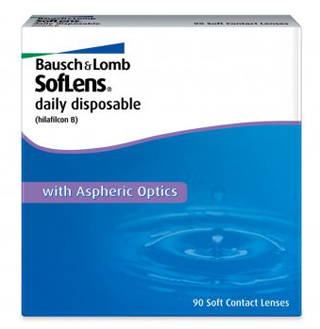 B&L SofLens Daily  Disposable 90 pack