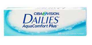 CIBA Dailies AquaComfort Plus 30 pack