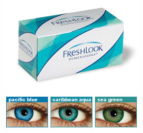 Freshlook Dimensions 6 Pack Discounted Contact Lenses