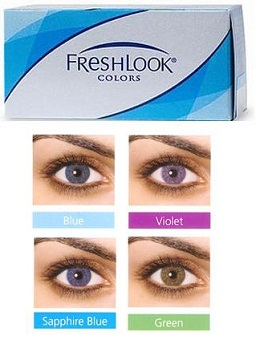 ciba freshlook colors 2 pack - Freshlook Colors Violet