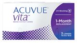 J&J Acuvue Vita with HydraMax Technology 3 pack
