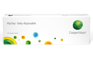NEW! CooperVision MyDay 1 Day 30 pack