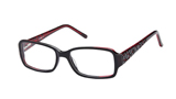 Kubni Womens Red Shatter Look Frames