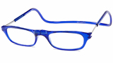 CliC Ready-Made Reading Glasses Royal Blue