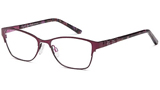 Bailey D64 C2 Burgundy Glasses