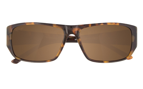 Greg Norman Wrap Around Tortoise Men's Sunglasses