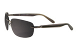 Greg Norman Onyx Rimless Sunglasses