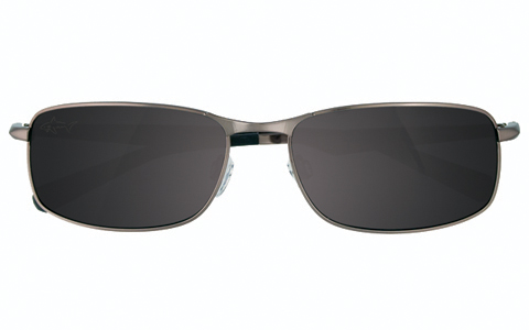 Greg Norman Satin Steel Men's Sunglasses