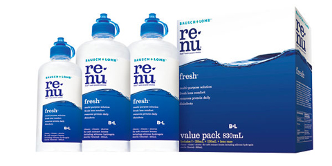 B&L Renu Fresh Multi-Purpose 830ml