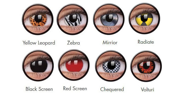 ColourVue Crazy Eyes Costume Non Prescription Lenses 4