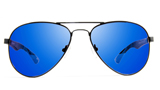 NOVA Pilot NV0313 Blue Mirror Aviator