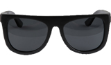 Slug Black Bamboo Sunglasses