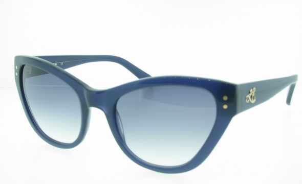 Leona Edmiston Taylor Cat Eye Sunglasses - Blue
